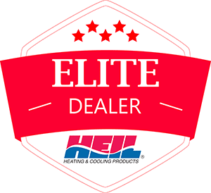 heil heating and cooling elite dealer emblem