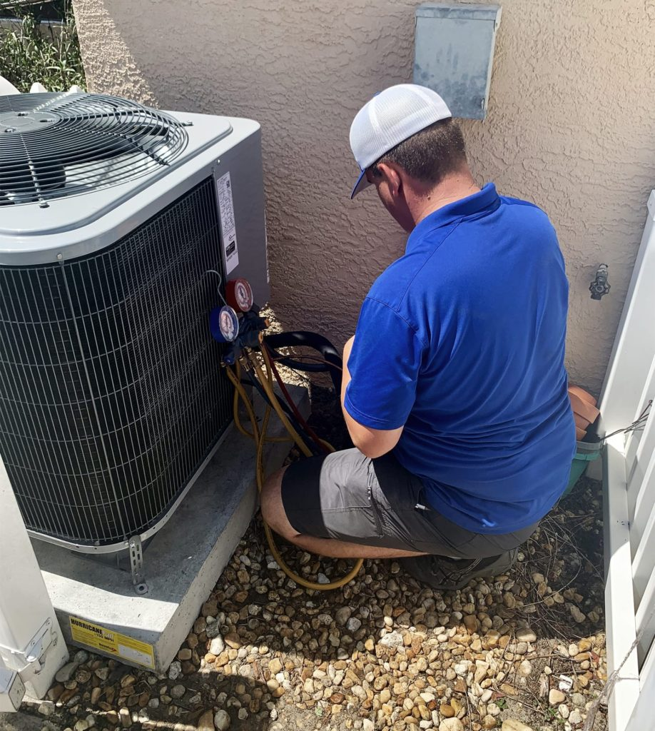 Cool Rays AC working on AC repair